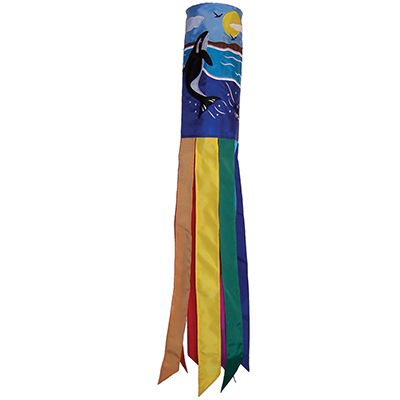 "40"" Orca Whale Windsock"
