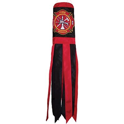 Fireman Logo Windsock