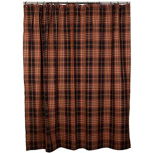 The Country House Village Plaid Shower Curtain