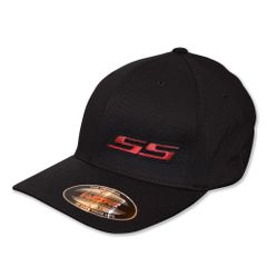 SS - Flexfit (Black/Black/Red/Black)