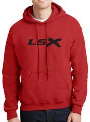 LSX - Black Logo Hoodie