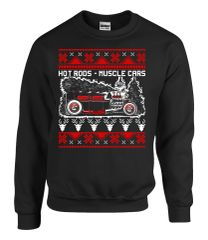 Hotrods Christmas Ugly Sweater - 2017