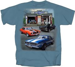 CHEVY MUSCLE T-SHIRT