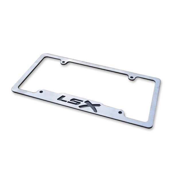 LSX - Stainless License Plate Frame | lsxmovement ls1 ls2 ls3 ls4 ...