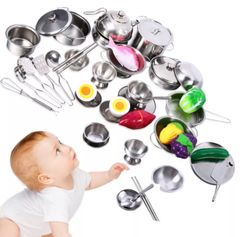 Children's Complete Kitchen Utensil Set