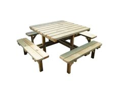 Square Picnic ic Table