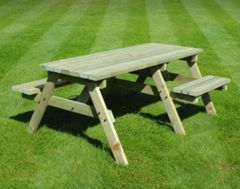 Disabled access picnic bench - 6ft