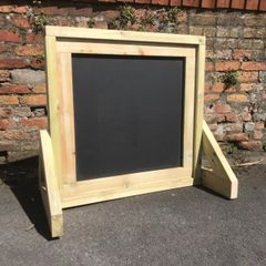 Square Free Standing Chalkboard