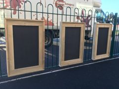 All Weather Framed Blackboards