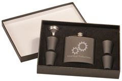 6 oz Flask Gift Set