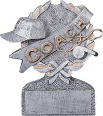 "5"" Pewter Coach Resin"