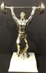 Weight Lifter Trophy