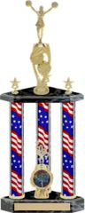 Small 3 Column Trophy