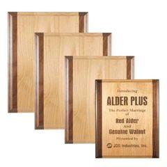 Red Alder + Plaque