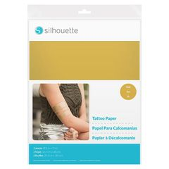 Temporary Tattoo Paper - Gold