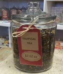 Tropical Tea $2.62 - by the ounce