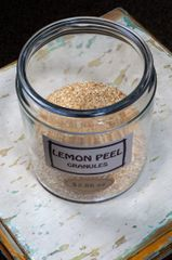 Lemon Peel Granules - by the ounce