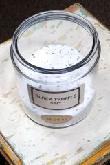 Black Truffle Sea Salt - by the ounce