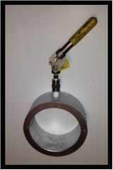 "Easy Tapper EZ-HPT High Pressure (1,480 PSI), High Performance (Fire Proof) Bolt-On Tapping Saddle 2"" x 1/2"""
