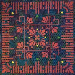 Medallion- Desert Blooms:XI