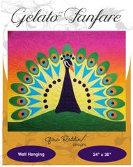 Applique pattern-Gelato Fanfare-24″ x 30″)