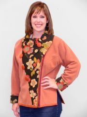 """#206"""" Esther"""" fitted convertible jacket"""