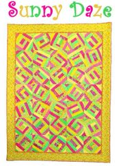 "Quilt Pattern- Sunny Daze - 67"" x 89"""