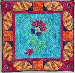 Amidala's Flower Mini- Quilt:X