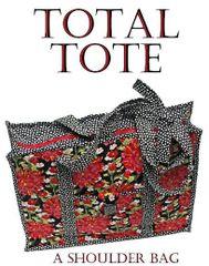 "Total Tote Bag pattern- 18 1/2"" x 14 !/2"""