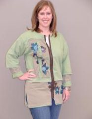 #221 Garden View Stitch n' rip jacket pattern