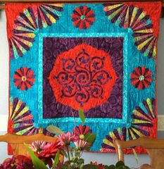Fan the Flame Quilt :VIII
