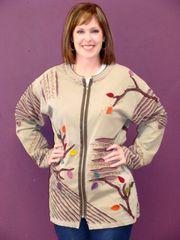 #197 Autumn double cut outs T-shirt jackets