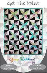 "Quilt Pattern- Get the Point -45"" x 52"""