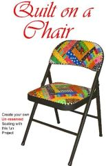 Applique Chair Pattern-Quilt on a Chair