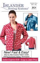 #218 Jacket Express -xxs-4x