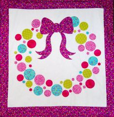 Quilt pattern - Bubbles and Bow
