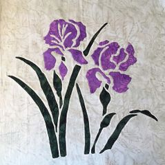 Iris : 9 of 9 pillow/blocks - 16x16