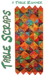 Table Runner pattern- Table Scraps