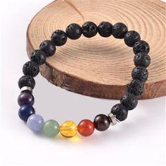 Aromatherapy Bracelet- Chakra with Lava Stones