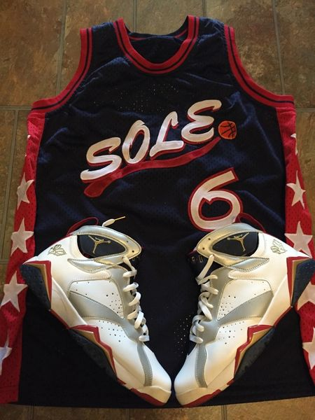 Sole Sickness Olympic Jersey - Navy Blue