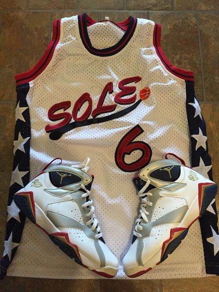 Sole Sickness Olympic Jersey - White