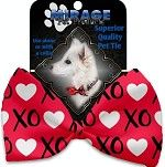 Bow Tie - Valentine's Red XOXO Bow Tie