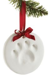 Pawprints Ornament