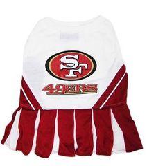 Football Cheerleading Uniform - SF 49er