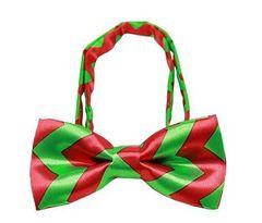 Bow Tie - Chevron Christmas