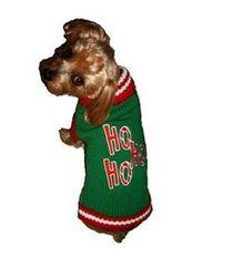 Sweater - Ho Ho Ho Green