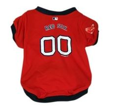 Baseball Jersey - Boston Red Sox