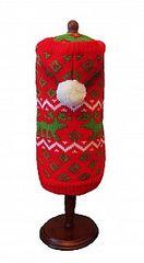 Sweater - Fair Isle Reindeer Hoodie