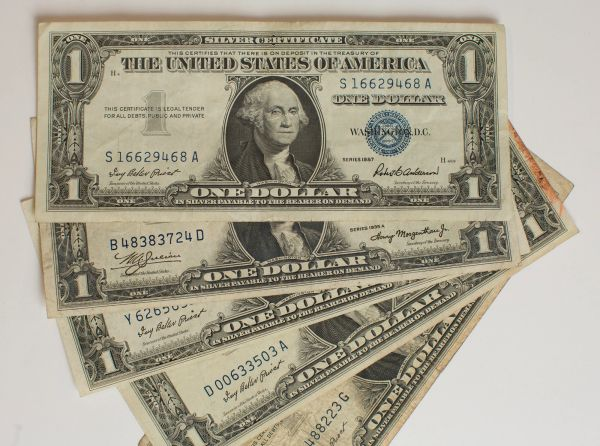 1935 USA One Dollar Bill (Silver Certificate) | Framing the World