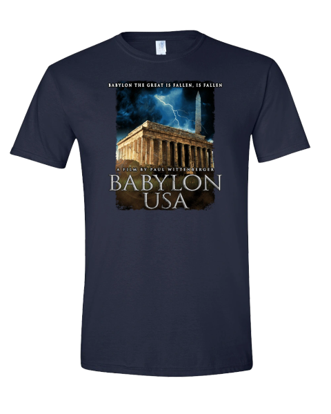 Babylon Usa Cover T Shirt Framing The World